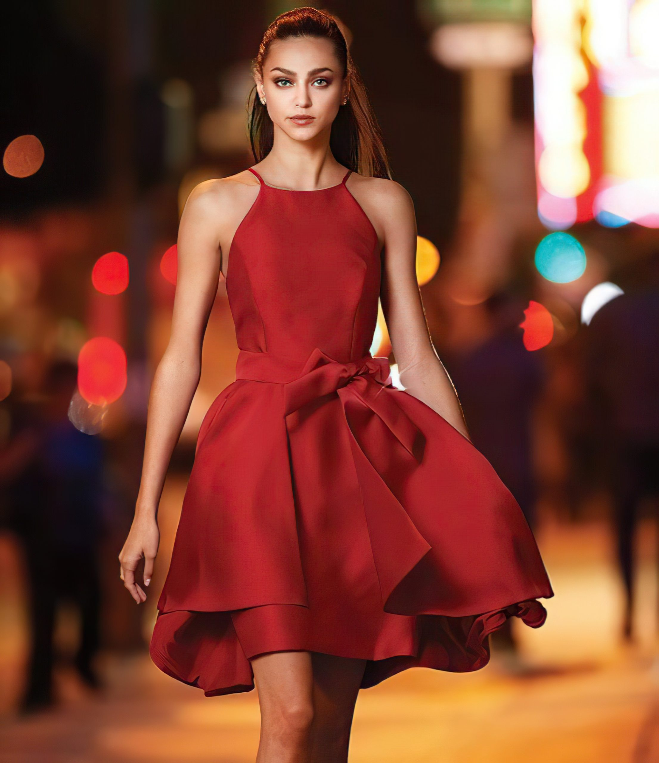 Wine Red Holiday Party Наряды