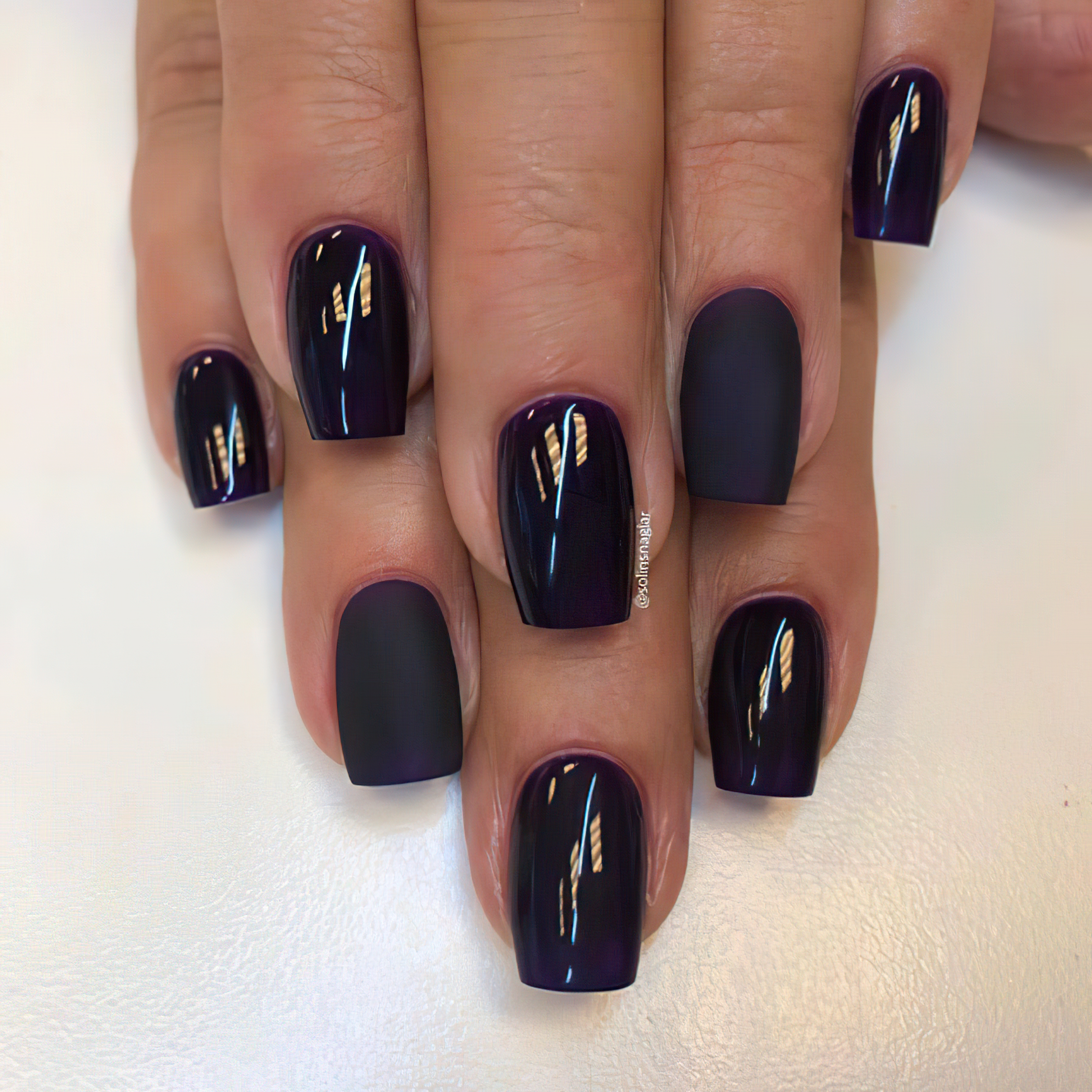 Лак для ногтей Sexy Vamp Dark Purple